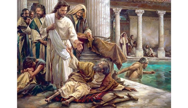 """""""Algum tempo depois, Jesus subiu a Jerusalém para uma festa dos judeus. Há em Jerusalém, perto da porta das Ovelhas, um tanque que, em aramaico, é chamado Betesda, tendo cinco entradas em volta. Ali costumava ficar grande número de pessoas doentes e inválidas: cegos, mancos e paralíticos. Eles esperavam um movimento nas águas."""" João 5:1-3 O texto diz que Jesus iria a cidade santa para uma festa. Próximo a uma das portas de entrada ficava o tanque de Betesda, onde ficavam vários doentes. Na parábola do """"bom samaritano"""", onde aquele homem samaritano, mesmo estando em viagem, parou para socorrer aquele homem caído na estrada. Ele parou, derramou seu vinho e azeite para tratar as feridas do homem, depois o colocou no seu cavalo e levou ele para uma hospedaria e deixar ele até ficar melhor, pagando todas as despesas. """"Mas um samaritano, estando de viagem, chegou onde se encontrava o homem e, quando o viu, teve piedade dele. Aproximou-se, enfaixou-lhe as feridas, derramando nelas vinho e óleo. Depois colocou-o sobre o seu próprio animal, levou-o para uma hospedaria e cuidou dele."""" Lucas 10:33-34 Jesus está subindo a Jerusalém para uma festa e, da mesma forma, desvia seu caminho para ir ao tanque de betesda e curar um homem paralítico que encontrava-se naquela situação há 38 anos. Vivemos dias que o amor se esfria e multiplicam-se pessoas egoístas, inclusive cristãos. Focados somente em suas demandas e necessidades, são incapazes de olhar a necessidade do outro que, na maioria das vezes, é bem maior. A bíblia diz que quem sabe fazer o bem e não faz, comete pecado. O Evangelho nos manda amar o próximo mais do que a nós. Porém, muitos ignoram esse mandamento. A diferença da igreja primitiva para a atual é gritante, mas é fácil entender o motivo quando lemos Atos 3 e 4. Cada cristão estava atento a necessidade do outro e o amor que os envolvia não deixa espaço para egoísmo. Sendo assim, compartilhavam uns com os outros tudo o que tinham. Alguns chegavam a vender suas propried"""